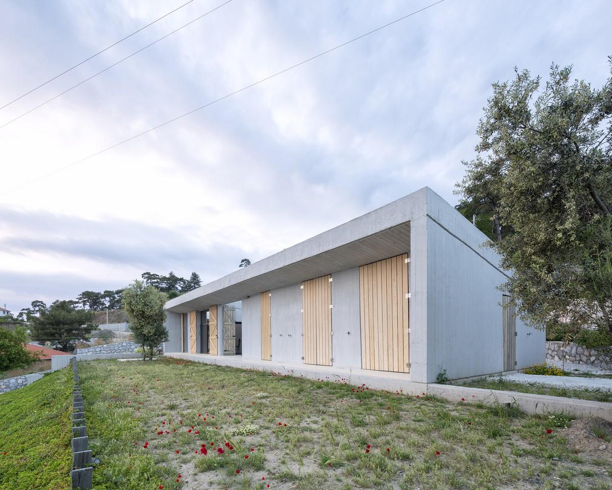 Минималистский дом в сельской местности Турции
