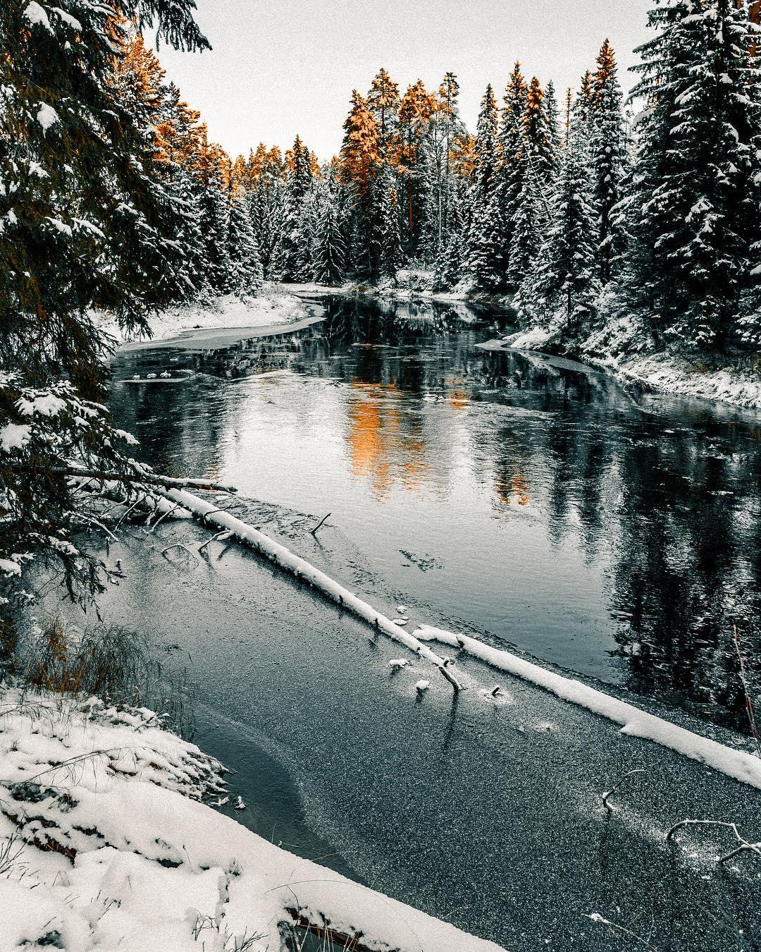 Потрясающие пейзажи Финляндии на снимках Анны-Элины Лахти
