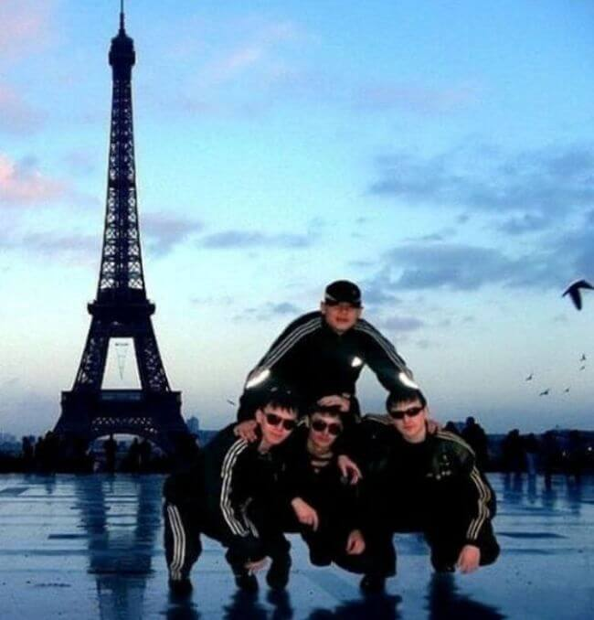 Франция в смешных картинках