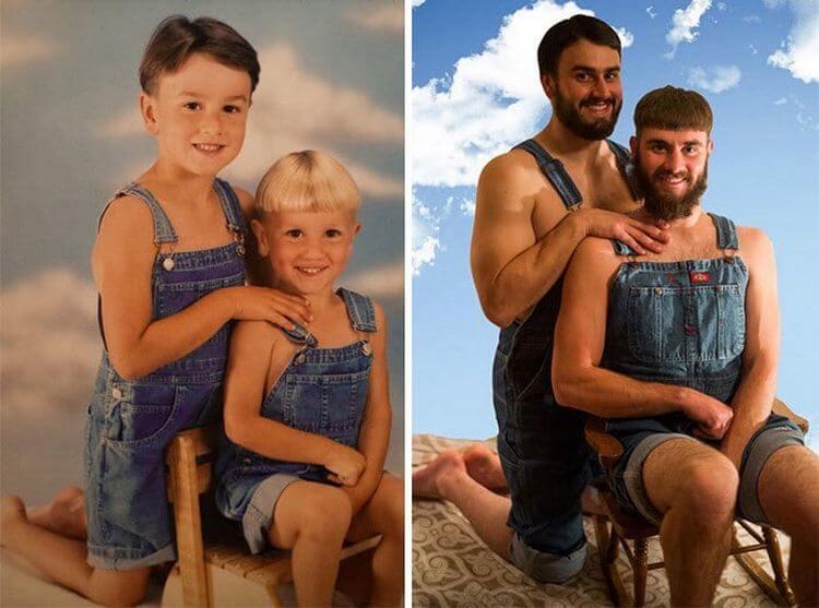 Фото до и после смешные