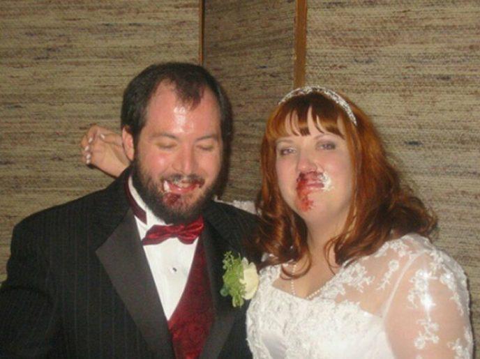 Курьезные свадебные фото, за которые должно быть стыдно. ФОТО