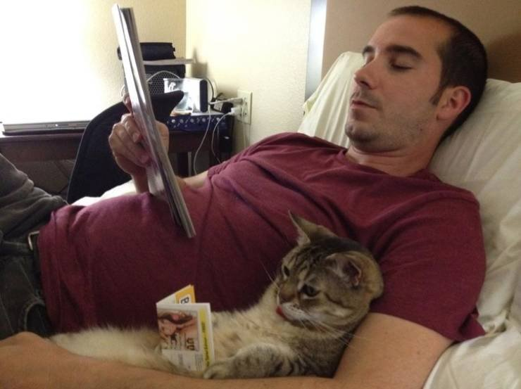 Люди и домашние животные никогда не скучают вместе