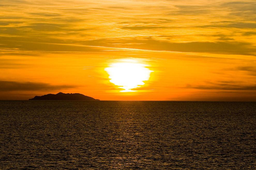 Остров Горгона, Италия
