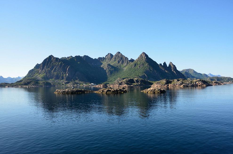 Остров Бастой, Норвегия