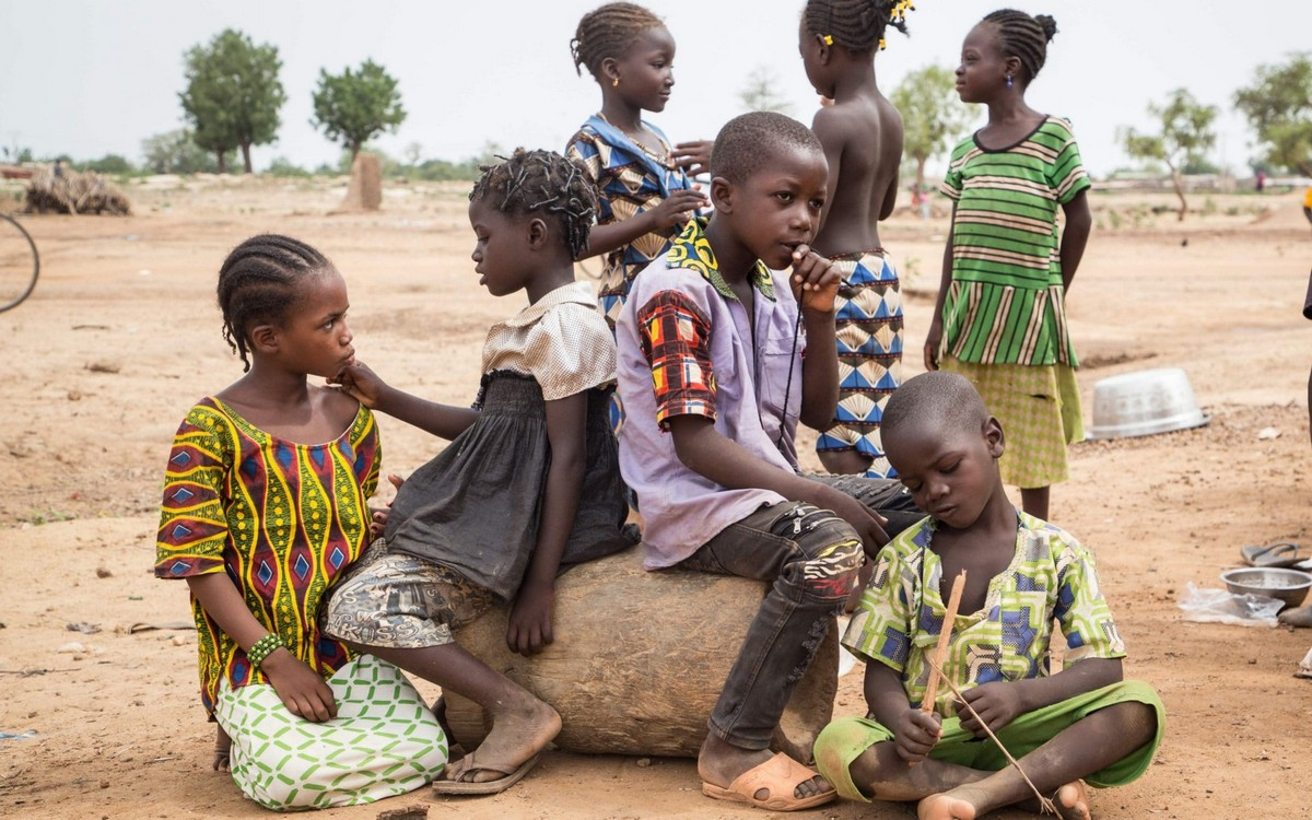 видно, там жизнь в африке в картинках помощью видео
