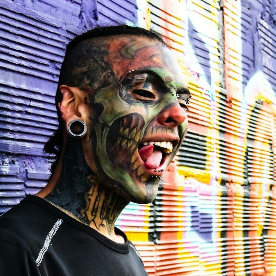 Rolf buchholz who holds the record for the most body modifications