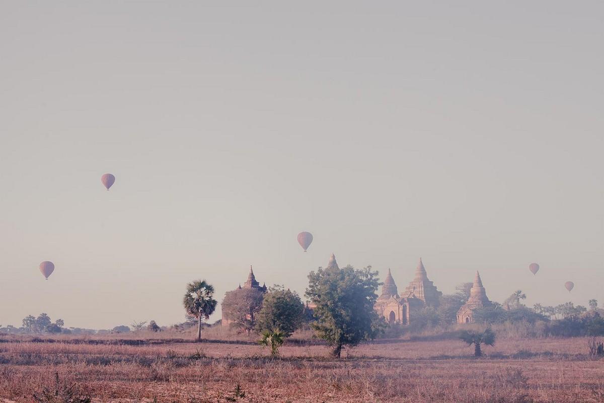 Меняющиеся пейзажи города Баган — древней столицы Мьянмы
