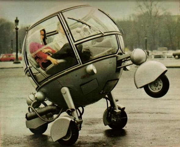 The Groovy French Pod Car. 1970's