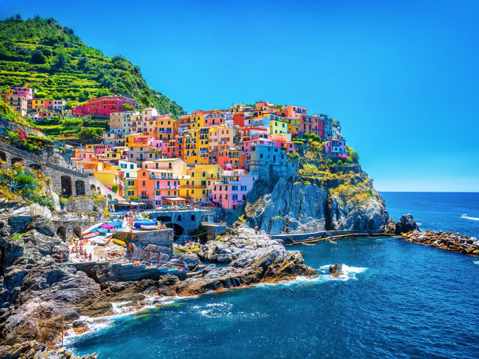 Самые красочные места Европы. ФОТО