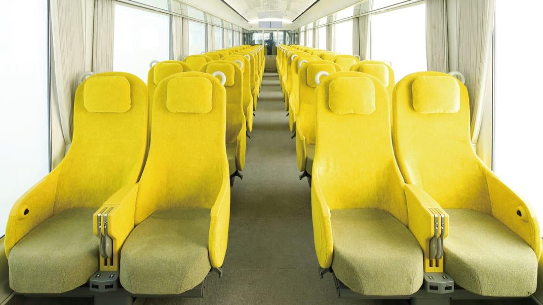 Японский поезд, в котором можно почувствовать себя как дома