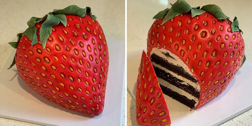 Гиперреалистичные торты и пирожные от Люка Винсентини