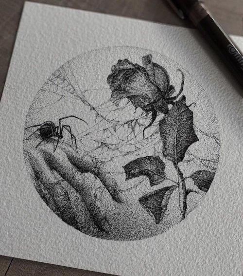Татуировки от этой художницы похожи на произведения искусства. ФОТО