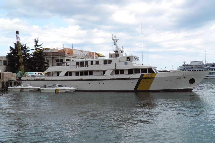 Украинские власти нашли применение для яхты, построенной для Брежнева. ФОТО