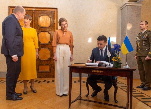 В Сети обсуждают прибалтийские образы Елены Зеленской: от восторга до полного разочарования. ФОТО