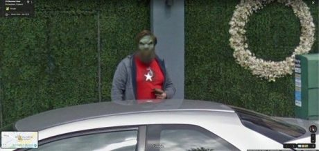 Жительница Германии нашла инопланетянина на Google-картах. ФОТО