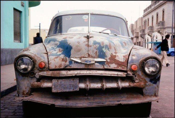 Уличные снимки столицы Перу середины 1970-х
