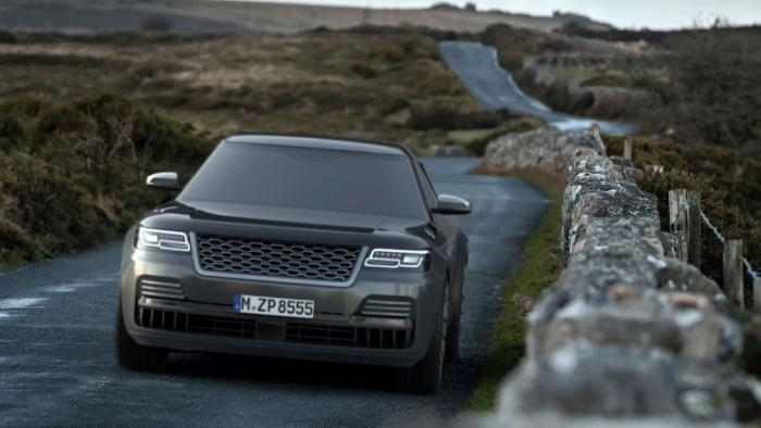 Range Rover в кузове седан — конкурент Rolls-Royce Ghost