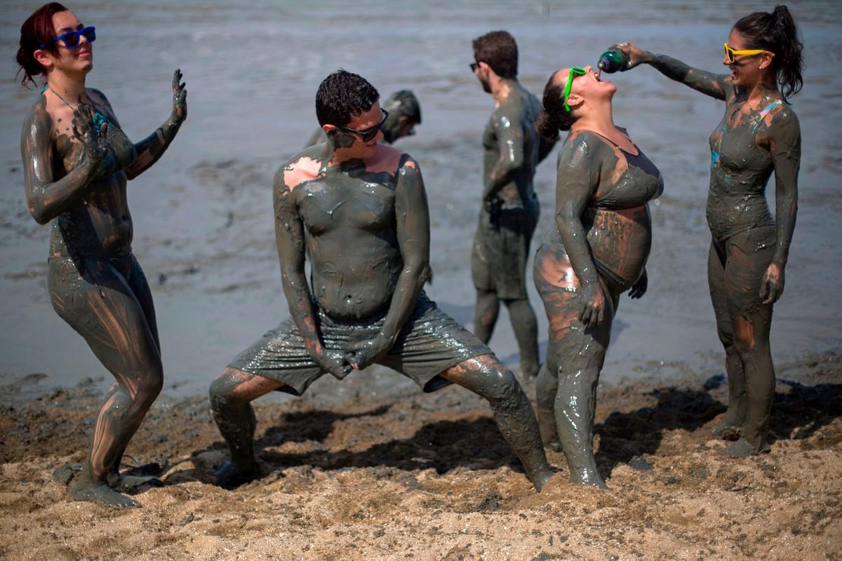 фото грязи в рио видны произношение, словарный
