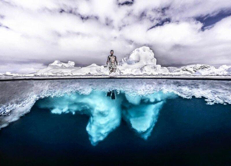 11 редких и впечатляющих фото айсберга в Гренландии от фотографа Тобиаса Фридриха. ФОТО