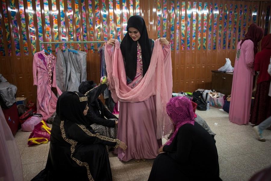 Как проходит конкурс красоты среди мусульманок. ФОТО