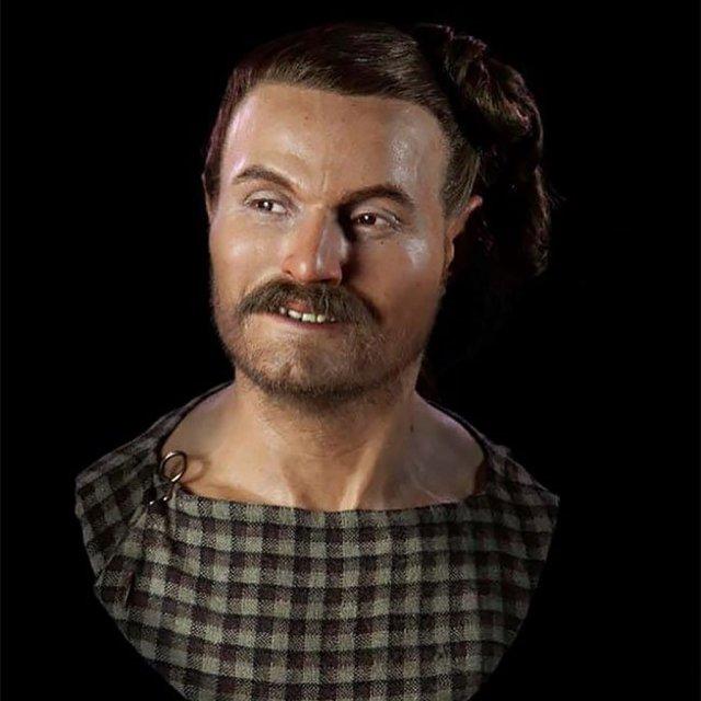 Скульптор-археолог создал реалистичные портреты древних людей