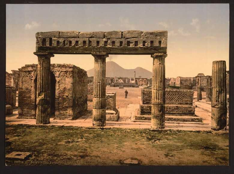 Цветные ретро фотографии Италии конца XIX века