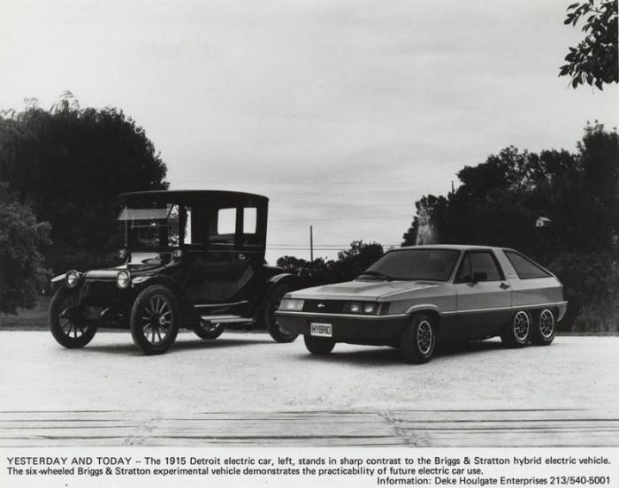 Экстравагантный шестиколесный гибрид Briggs and Stratton из 80-х