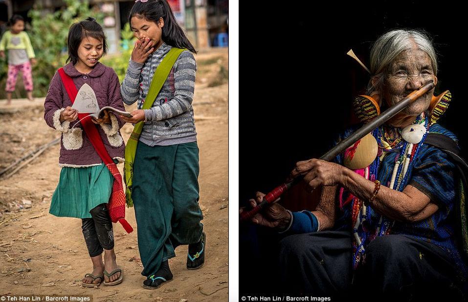 Девушкам народа чин делают уродующие тату на лице, чтобы их не похитили. ФОТО