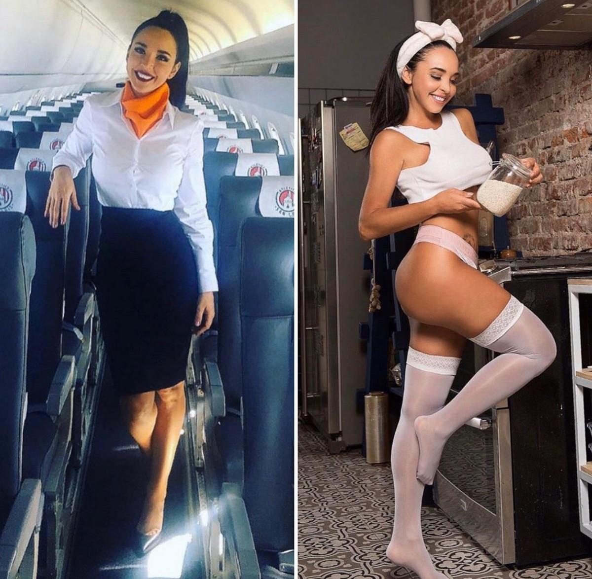 было фото стюардессы без лифа копейкин долгое время