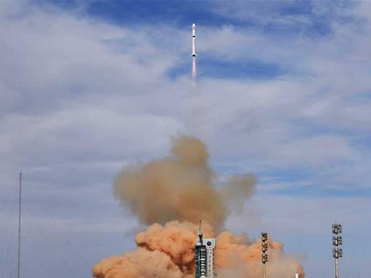 Китай осуществил запуск двух спутников на орбиту. ВИДЕО