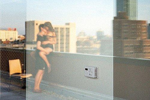 Секс на балконе с анжеликой