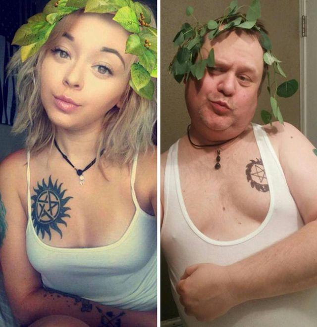 Парни троллят девушек, пародируя их фото из соцсетей