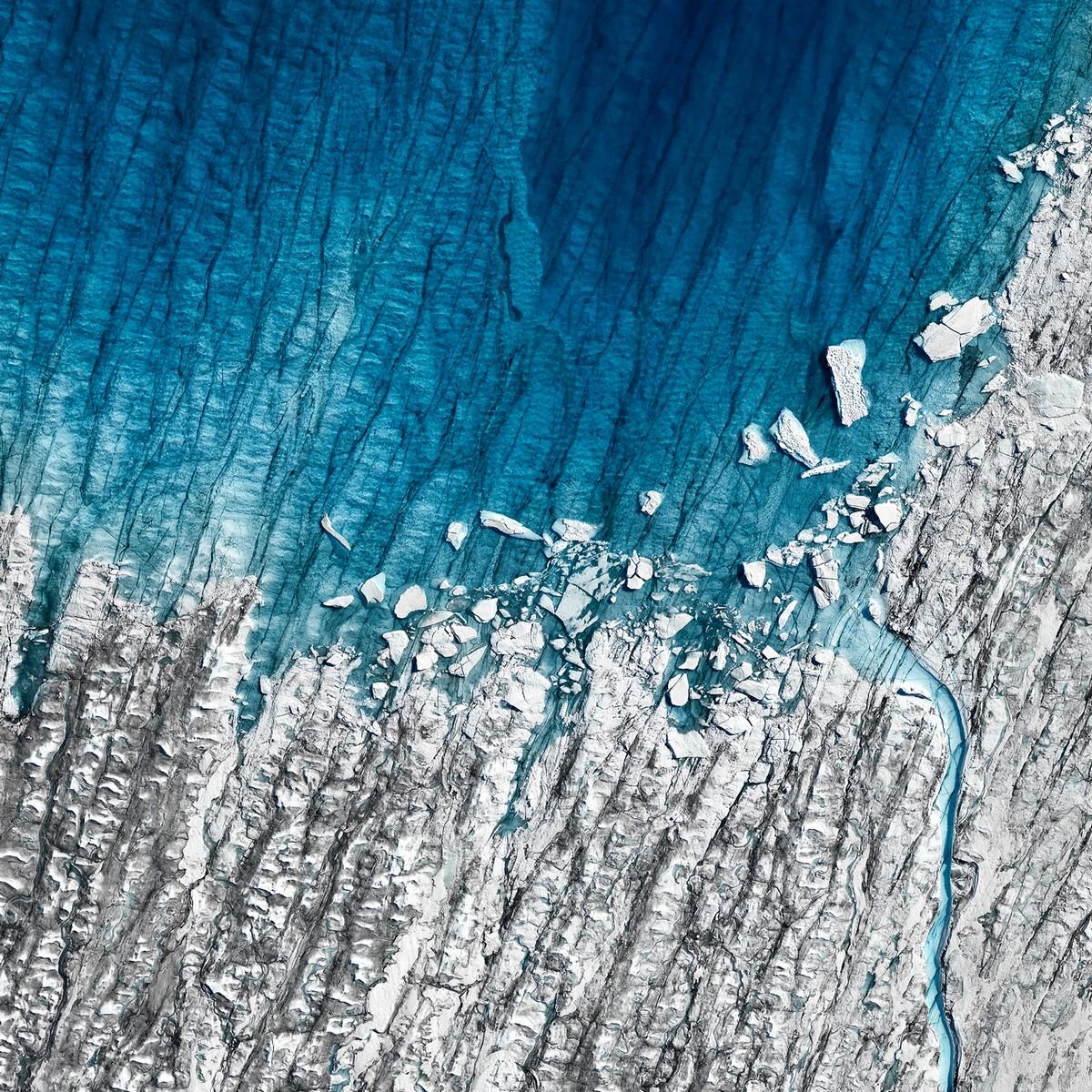 Хрупкая красота тающих арктических льдов