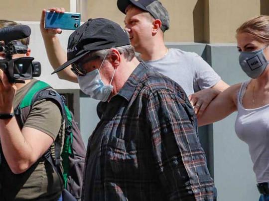 В Москве начался суд над Михаилом Ефремовым. Видео