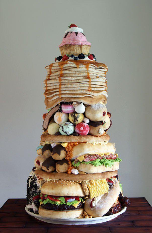 10 отпадных тортов, порезать которые просто не поднимается рука. ФОТО