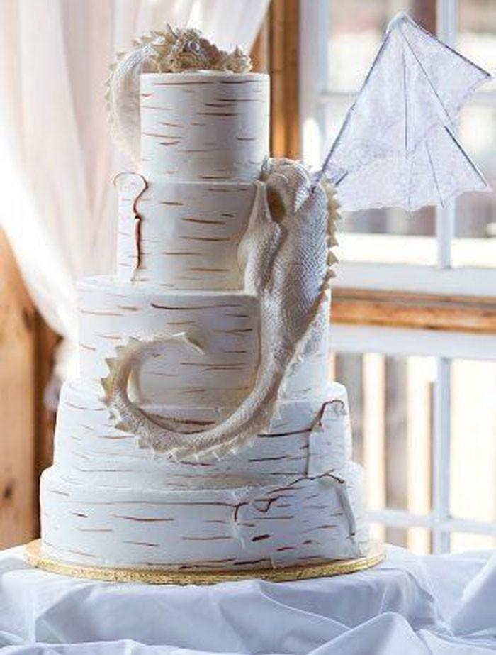 Удивительные свадебные торты как произведения искусства
