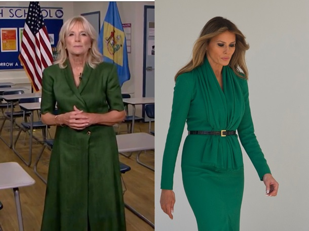 Жена Байдена копирует стиль Мелании Трамп − СМИ. ФОТО