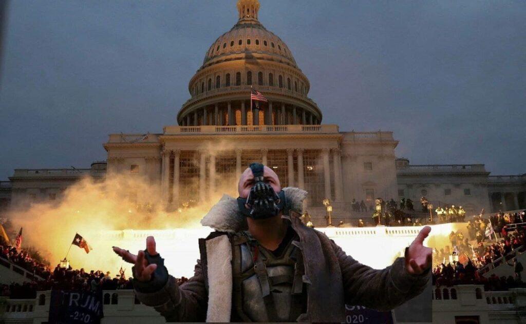 Соцсети отреагировали мемами на протесты в США