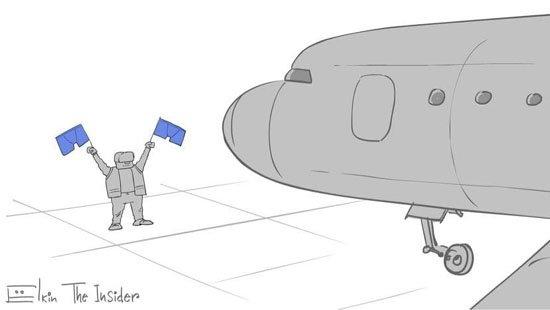 Путин ждет: появились меткие карикатуры на будущее возвращение Навального в Россию. ФОТО
