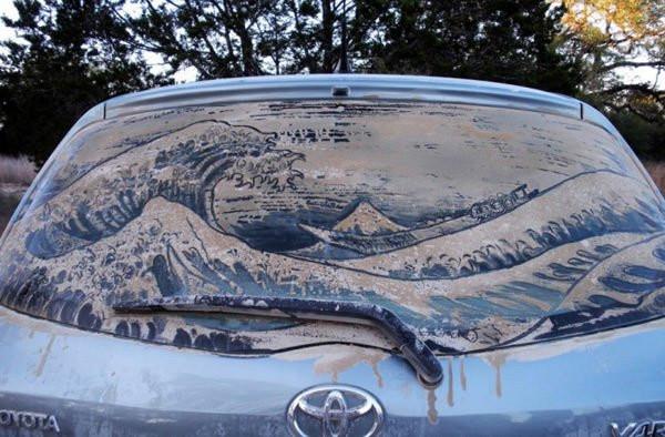 Когда грязные автомобили превращаются в произведения искусства (20 фото)