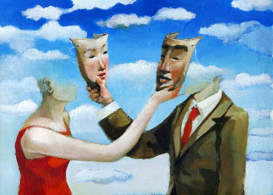Иллюстрации о нашем обществе и отношениях между людьми