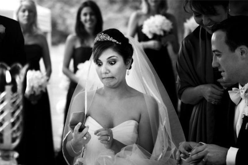 Забавные свадебные фото, на которых пошло что-то не так. ФОТО
