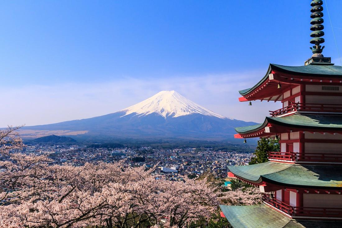 Достопримечательности японии картинками