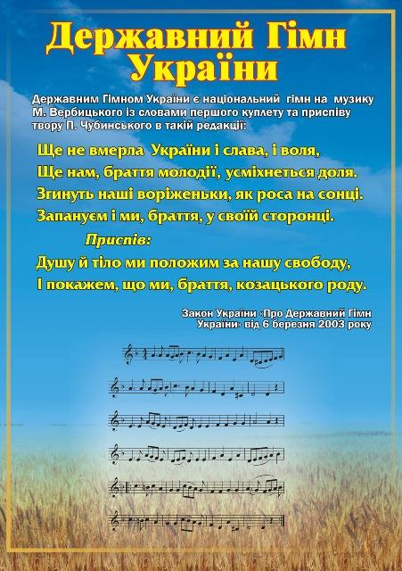 Минусовка гимн украины скачать.