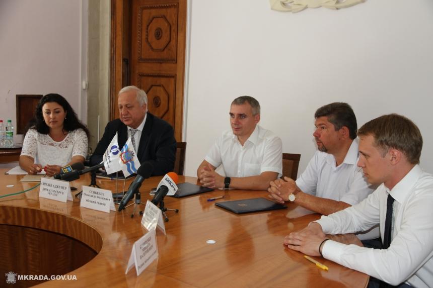 Николаевская мэрия подписала соглашение сЕБРР оподготовке кредитного снобжения деньгами развития транспорта